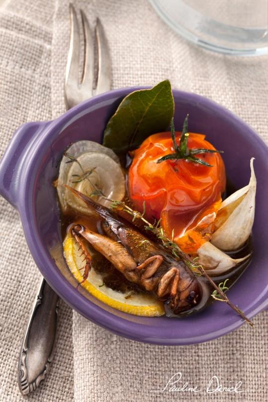 Cassolette de grillon à la provençale