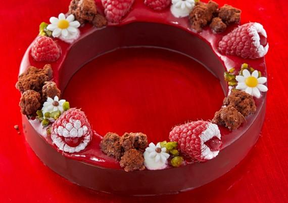Photographie de recette à base de Chocolat CEMO création Olivier Bajard