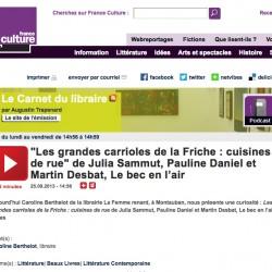 france-culture-carnet-du-libraire-pauline-daniel