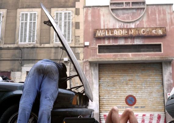 Marseille, Quartier de la Belle de Mai, Photographie Pauline Daniel, garagiste