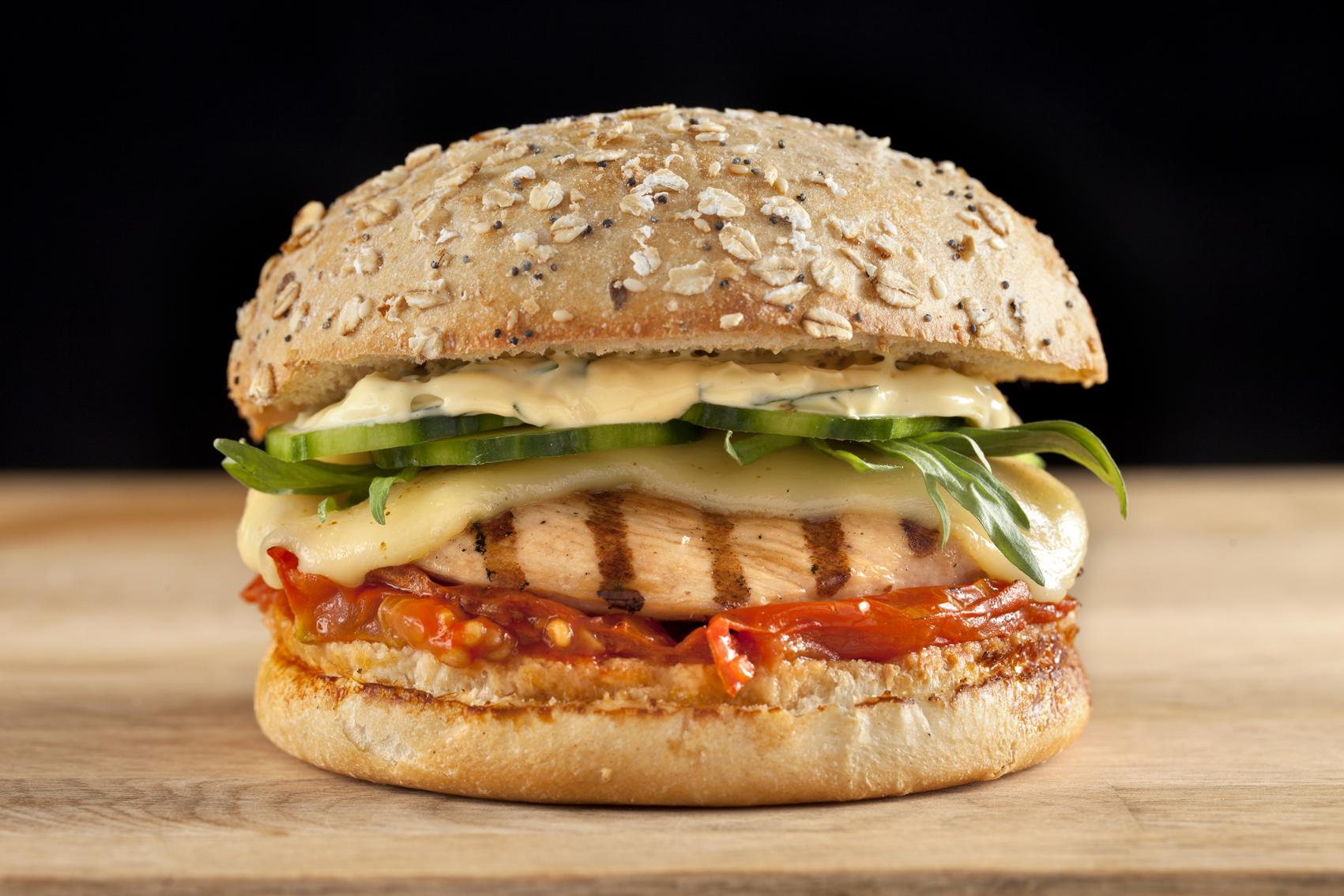 Pain hamburger maison facile - Recette hamburger maison original ...