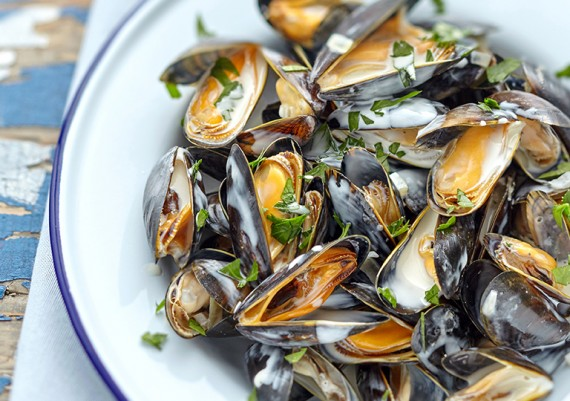 Moules sauce fromage ENTREMONT