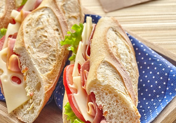 sandwichs fromage ENTREMONT / Livret Recette Snacking