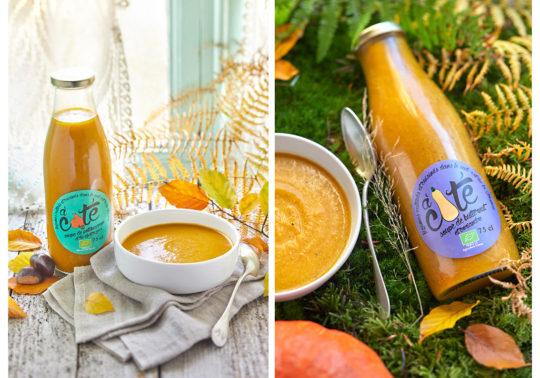 Soupe d'automne, photographie culinaire Pauline Daniel pour la marque local en bocal