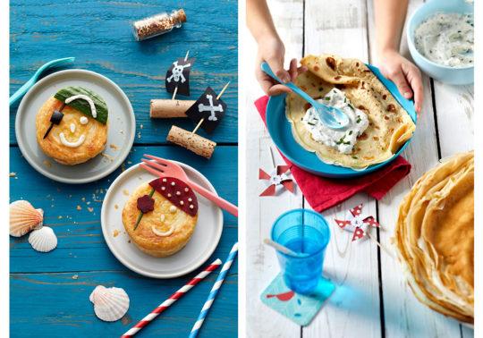 Recettes livret enfants, Photographie culinaire Pauline Daniel pour Coudène, stylisme culinaire Annelyse Chardon