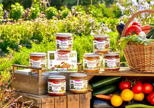 Mise en scène des packs de la marque Jean Martin, Photographie culinaire Pauline Daniel, stylisme culinaire Pauline Daniel