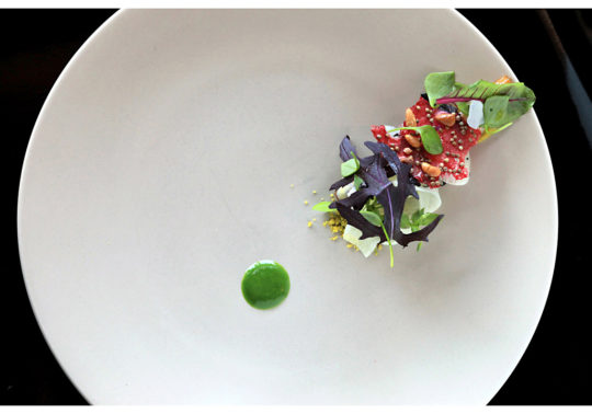 Chef Alexandre Mazzia / Restaurant Le ventre de l'architecte / Marseille