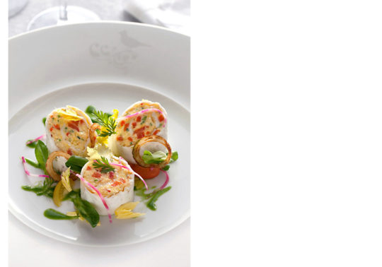 Chef Christophe Renaud, Restaurant du Relais & Chateau de l'hôtel la Coquillade, Lubéron, photographie Pauline Daniel