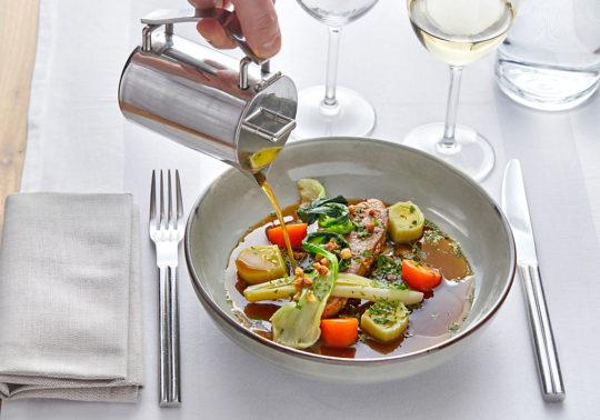 Restaurant de l'hôtel Renaissance à Aix en provence, photographie Pauline Daniel