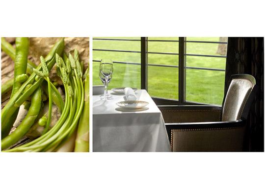 Restaurant l'Aupiho, du domaine de Manville Golf & Spa, chef Lieven Van Aken, photographie Pauline Daniel