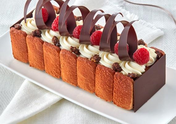 Photographie de recette à base de Chocolat CEMOI / création du pâtissier MOF Franck Michel