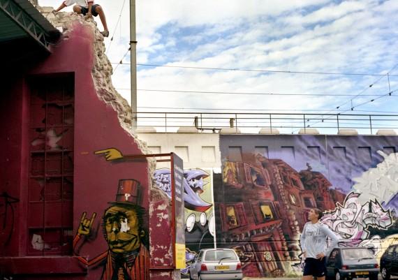 Marseille, Quartier de la Belle de Mai, Photographie Pauline Daniel, Friche Belle de Mai
